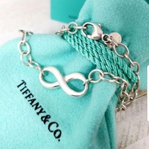 Authentic Pre-owned Tiffany and Co infinity bracel